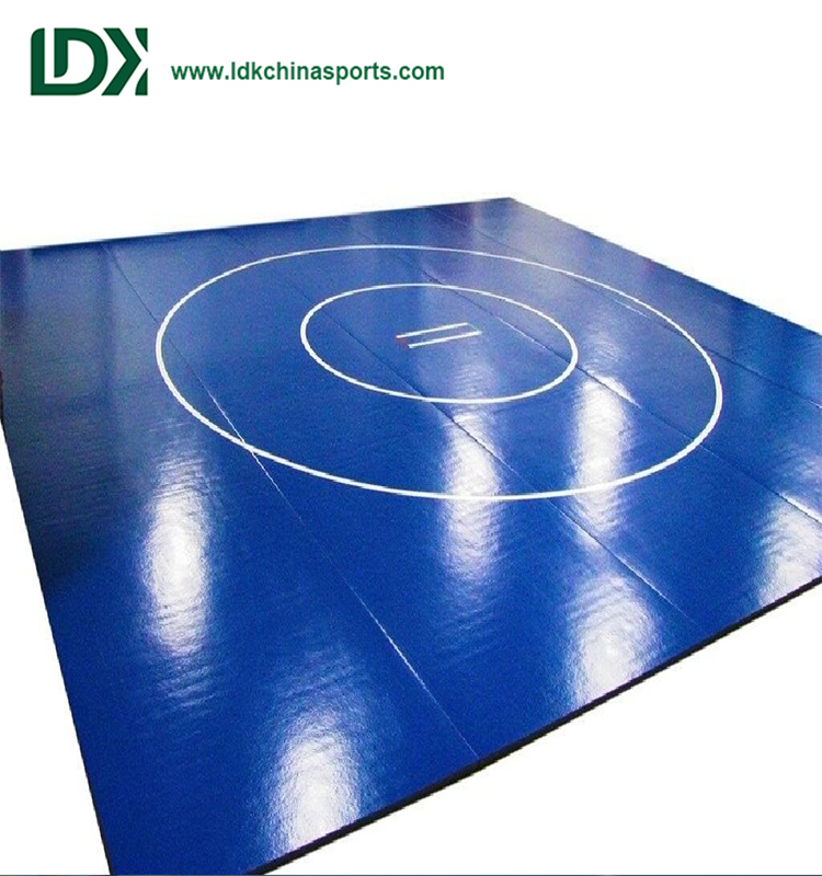 Wholesale Closed Cell Wrestling Mat Cover Vinyl Mat