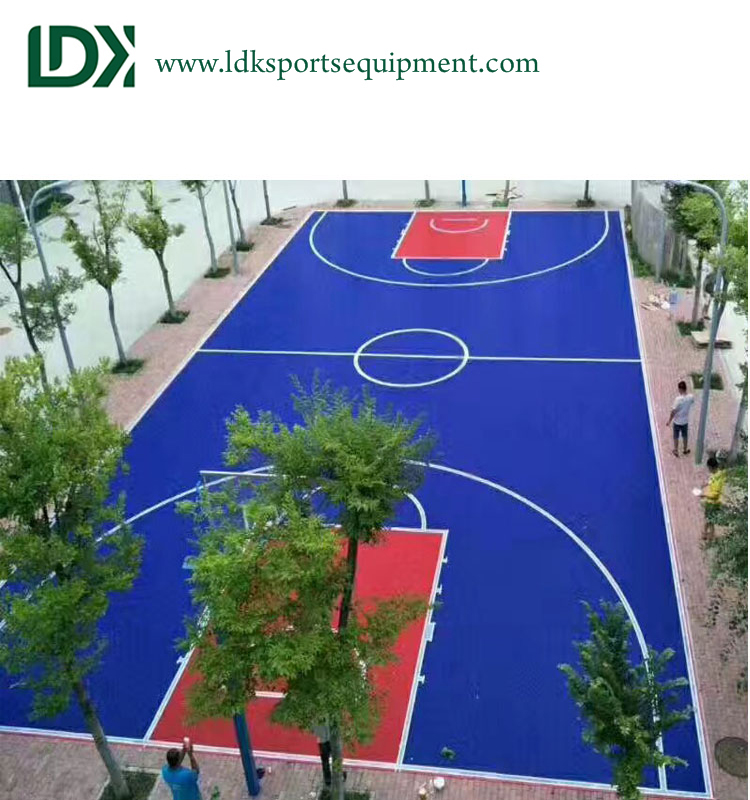 Basketball Court Flooring Material