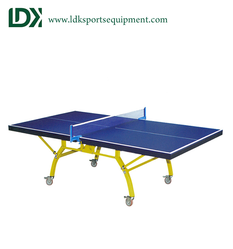 High Grade Galvanized Steel Pipe Full Size Indoor Table Tennis Table