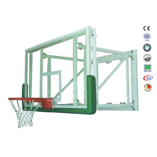 Wall Mounted Basketball Backboard And Hoop